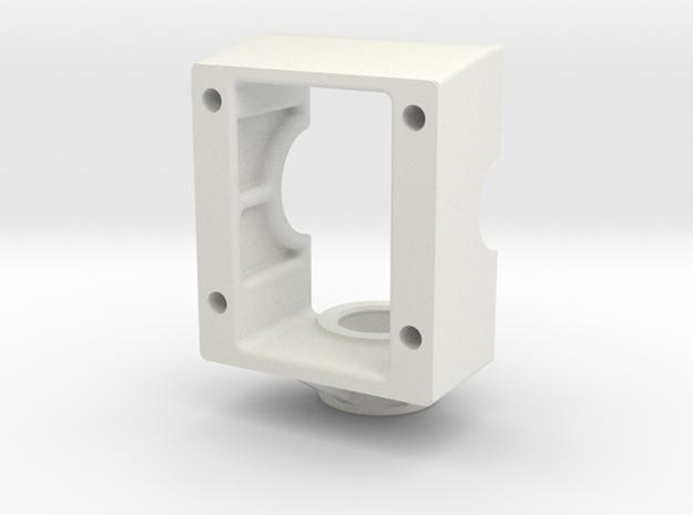 King Of Crushers Transmission Base in White Natural Versatile Plastic: 1:10
