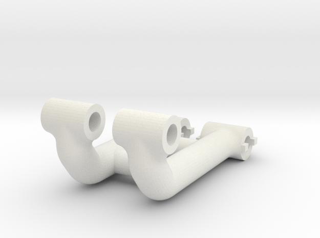 HD Chassis Mount For Traxxas UDR Light Bar in White Natural Versatile Plastic: 1:8