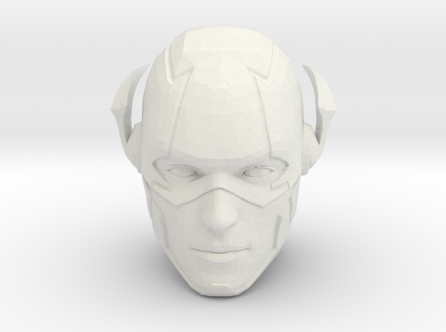 The Flash Head | CCBS Scale in White Natural Versatile Plastic