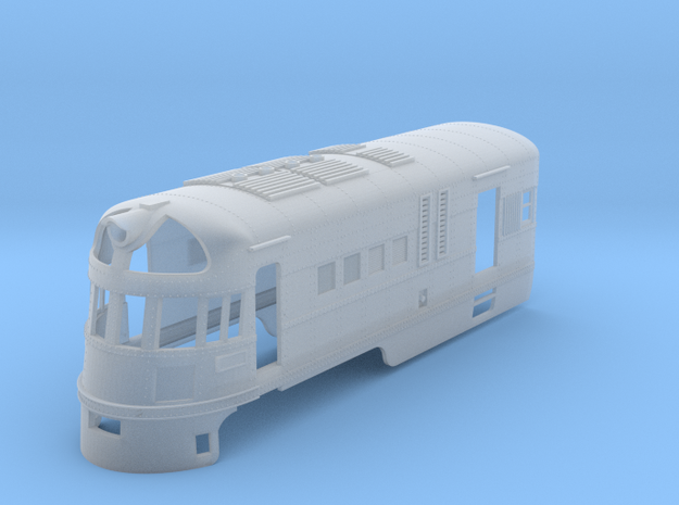 SAL 2028 S Scale - 50s Version - Front Half in Smooth Fine Detail Plastic