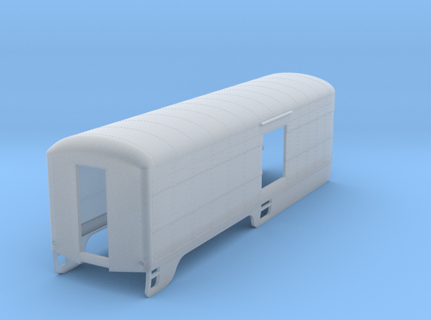 SAL 2028 S Scale - 50s Version - Rear Half in Smooth Fine Detail Plastic