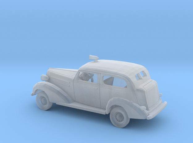 1/160 1936 Chevrolet 2Door Sedan Police Kit in Smooth Fine Detail Plastic