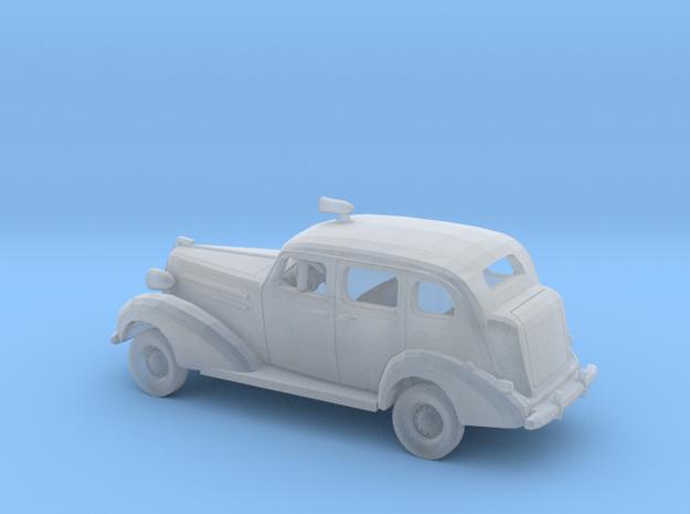 1/160 1936 Chevrolet Sedan Police Kit in Smooth Fine Detail Plastic