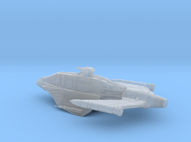 2256-skipray-landed in Smooth Fine Detail Plastic