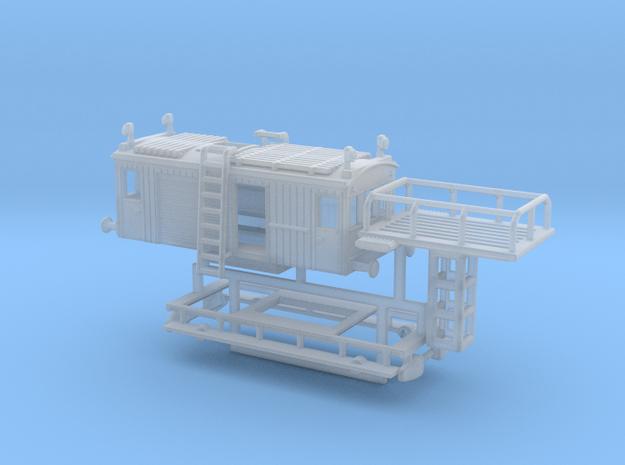 1:160 TURMWAGEN BLS - BN Xm2 Krähenpullman in Smooth Fine Detail Plastic