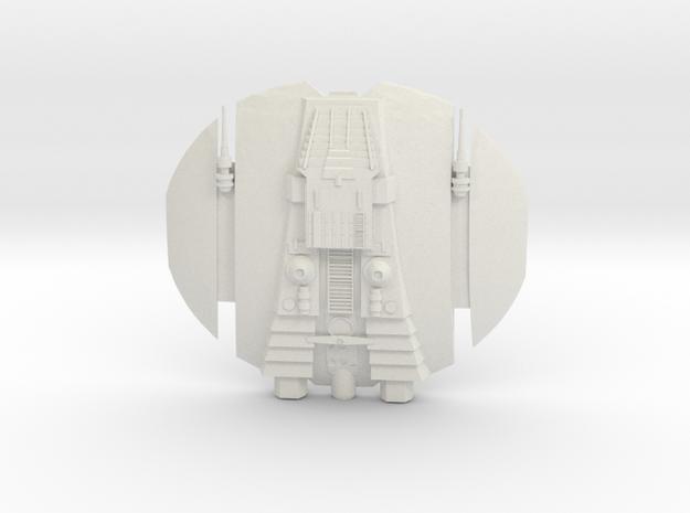 1/270 BSG Cylon Raider (TOS) xxxx 3d printed