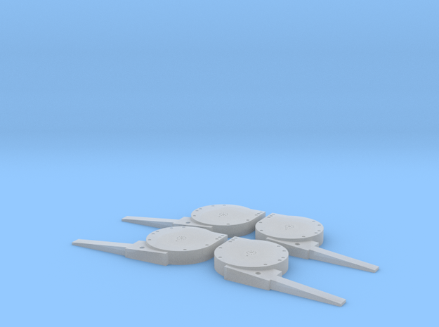 1:72 Arresting Sheave Sets x2 in Smooth Fine Detail Plastic
