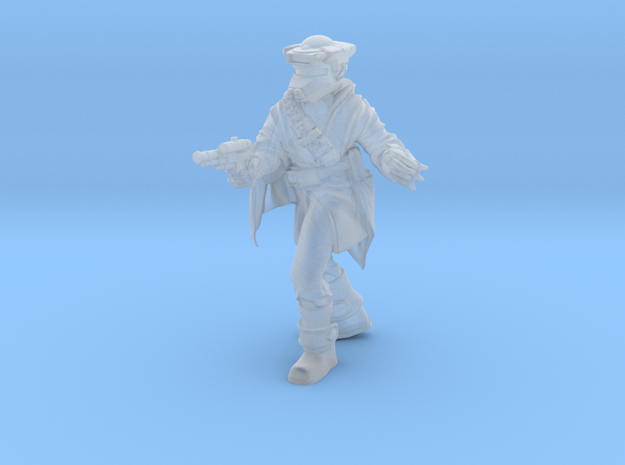 Bounty huntress 1 in Smoothest Fine Detail Plastic