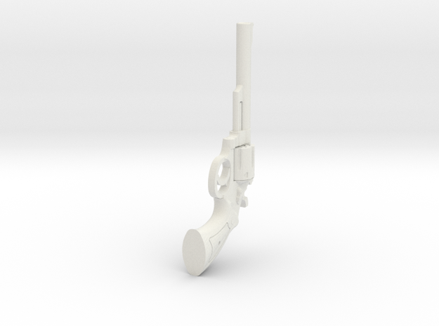 1:6 Scale 44 Magnum Revolver 6in Barrel
