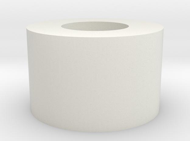 Washer 16mm v1 in White Natural Versatile Plastic