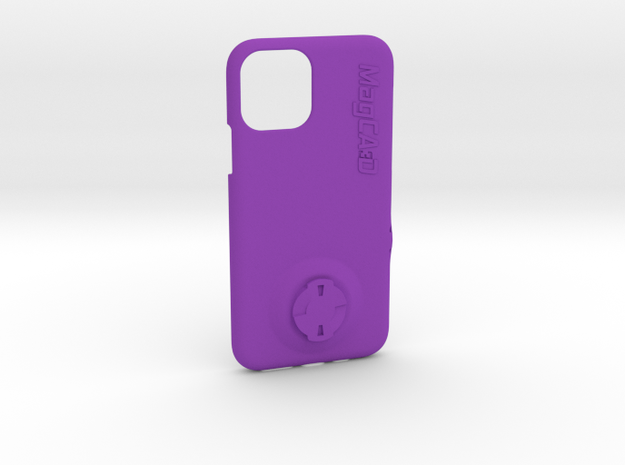iPhone 11 Pro Wahoo Mount Case in Purple Processed Versatile Plastic