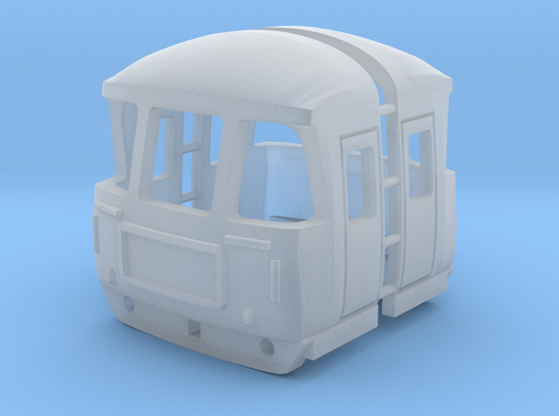 3mm Scale Class 124 Cab in Smooth Fine Detail Plastic