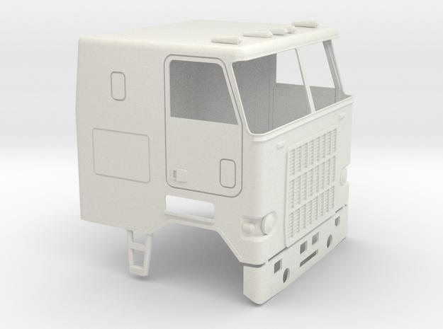 1/16 Mack Cruise-Liner Cab in White Natural Versatile Plastic