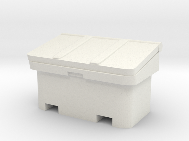 Large SOS Sand Bin 1/64 in White Natural Versatile Plastic