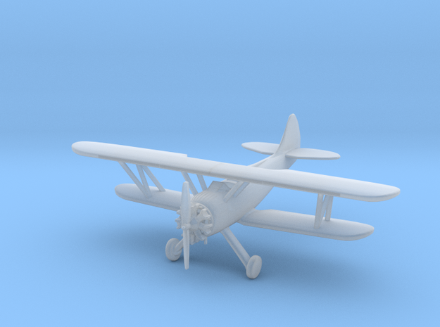 Waco UPF7 Biplane - Zscale in Smooth Fine Detail Plastic