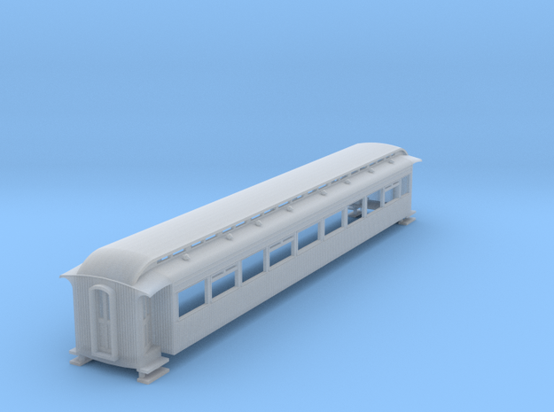 o-148fs-ly-d57-southport-emu-trailer-1st-coach in Smooth Fine Detail Plastic