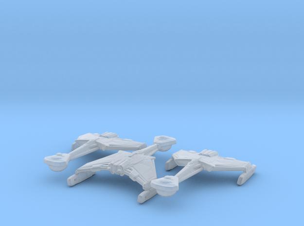 Klingon D4 (ENT) 1/7000 x3 in Smooth Fine Detail Plastic