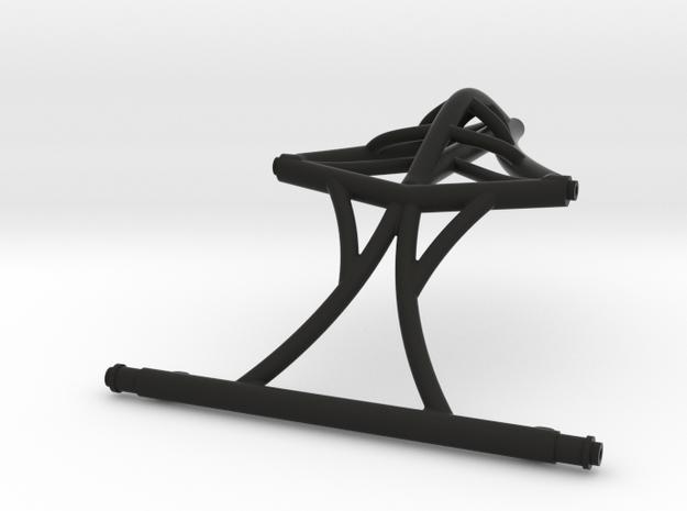Anti Turtle Top V3.1 for Axial Capra in Black Natural Versatile Plastic