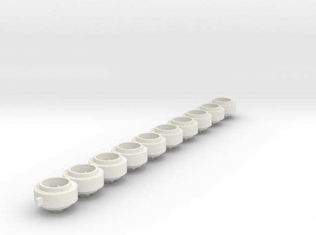 SCX_compact_NASCAR_238 in White Natural Versatile Plastic