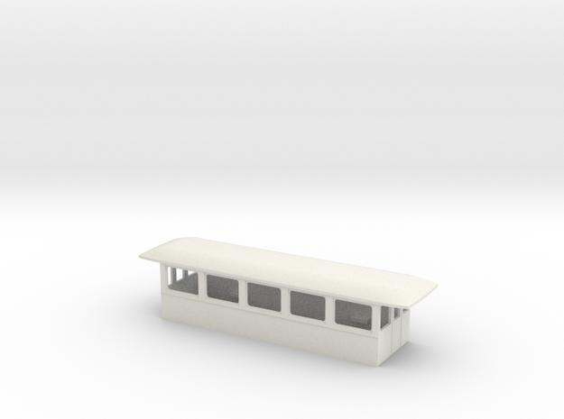 Gehäuse Beiwagen Neu in White Strong & Flexible