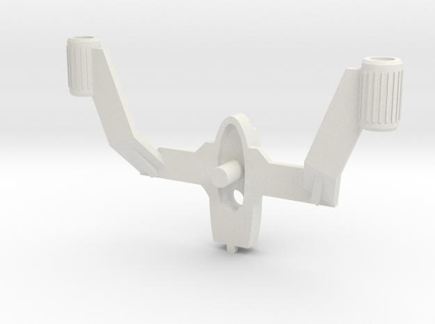 Acroyear Battle Buzzer in White Natural Versatile Plastic