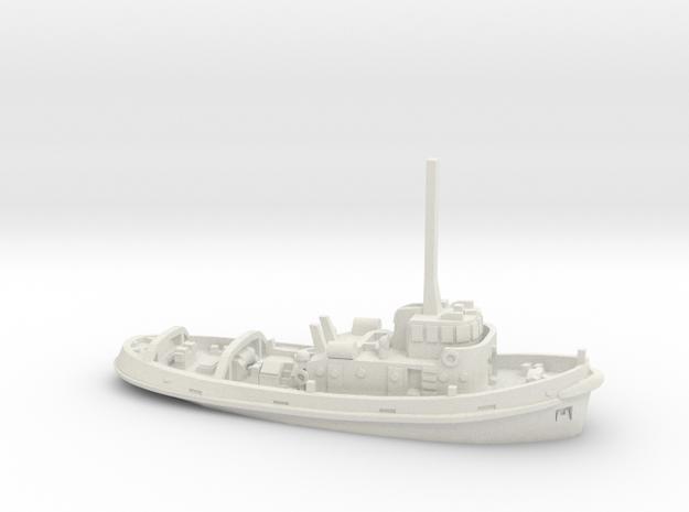 Acharné 1:400 in White Natural Versatile Plastic