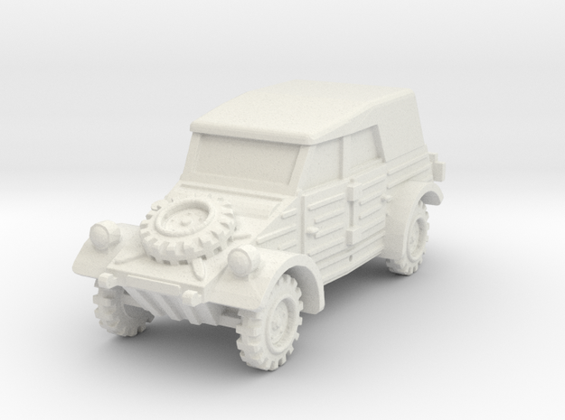 Kubelwagen (covered) 1/64 in White Natural Versatile Plastic