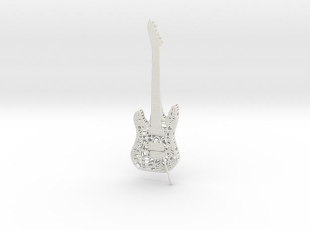 ESP Guitar (120mm) in White Natural Versatile Plastic