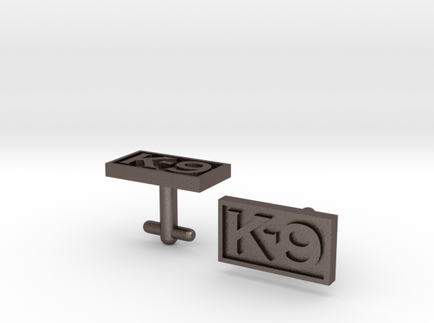 K-9 Cufflinks in Stainless Steel
