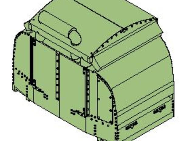 B-1-220-protected-simplex-1a in Smooth Fine Detail Plastic
