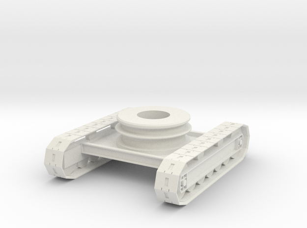 rb-19-rb10-chassis in White Natural Versatile Plastic