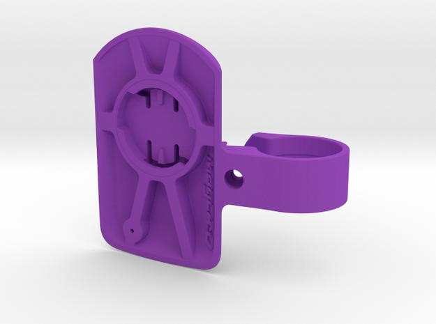 Wahoo Elemnt Roam TT Ext Mount - 22.2mm in Purple Processed Versatile Plastic