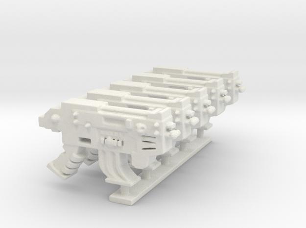 CombiPlasmaGun SET in White Natural Versatile Plastic