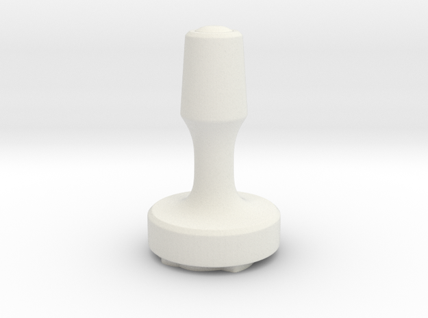 Thumbs Up Stamp in White Natural Versatile Plastic