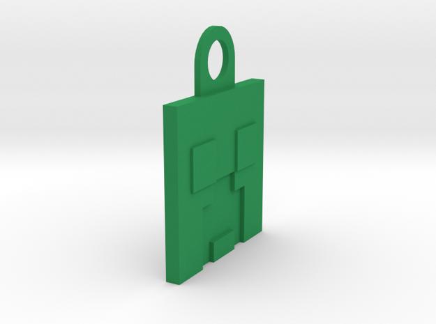 Creeper in Green Processed Versatile Plastic