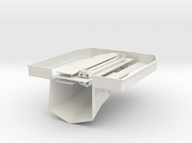 1/72 Bertholf Class Well Deck in White Natural Versatile Plastic