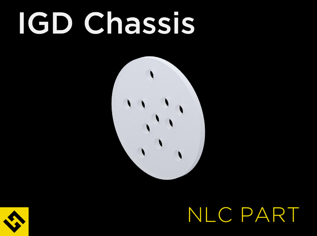 IGD Chassis - NPXL Led Cover in Smooth Fine Detail Plastic