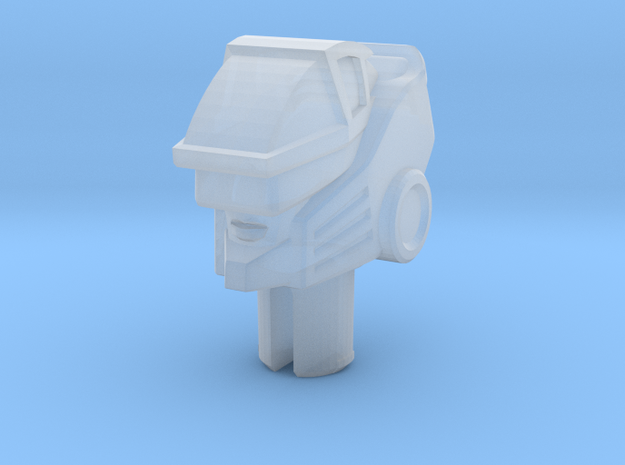 Jackpot Head for Fusion Flame Hot Rod in Smooth Fine Detail Plastic: Medium