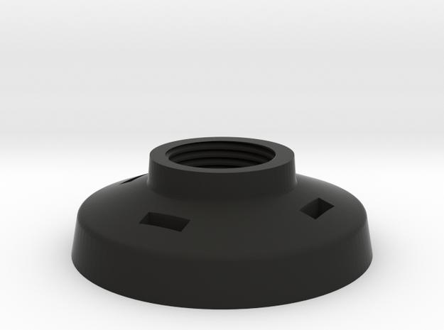 Porsche Light Switch bezel in Black Natural Versatile Plastic