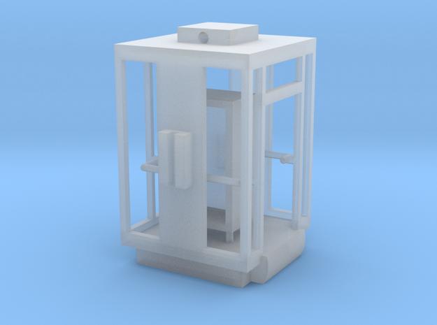 Aufzug Kabine Wien einseitig in Smooth Fine Detail Plastic