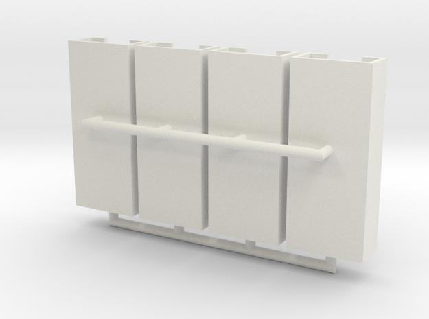 MG15 Ammo Racks 1 to 40 in White Natural Versatile Plastic
