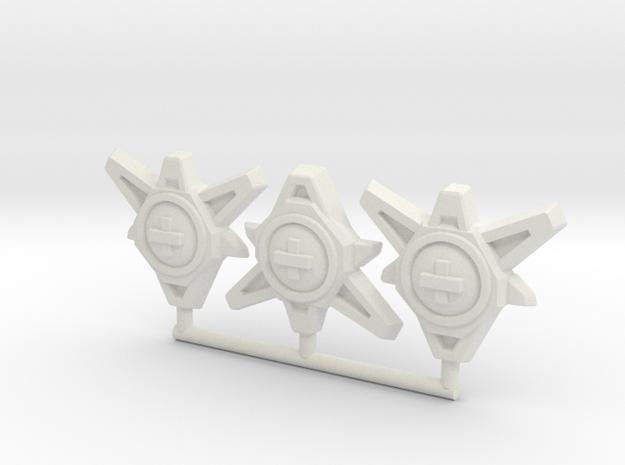 TCG - Regen Cores - 5mm in White Natural Versatile Plastic: Medium