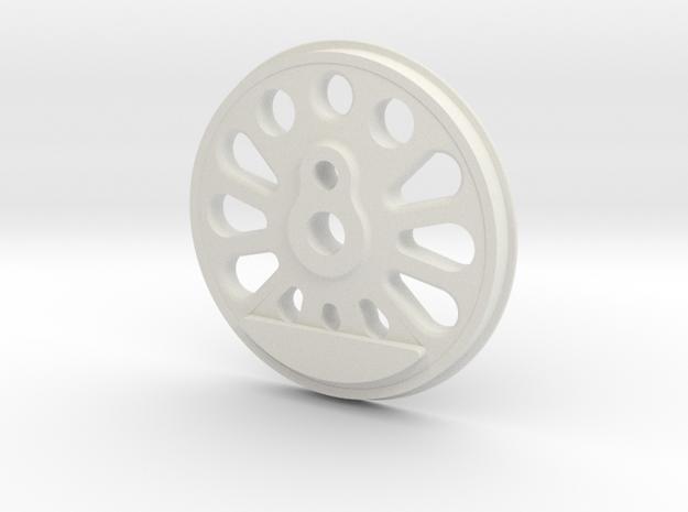 """3"""" Boxpok driver in White Natural Versatile Plastic"""