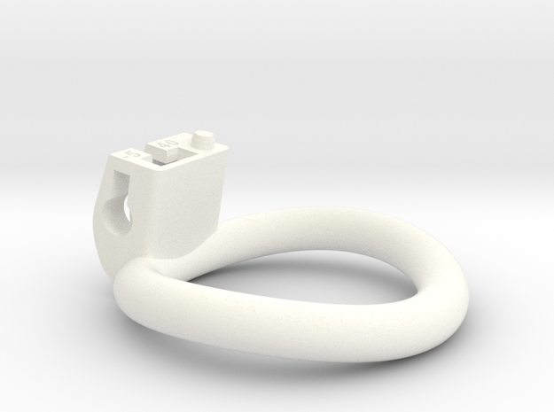 Cherry Keeper Ring - 40mm -5° in White Processed Versatile Plastic