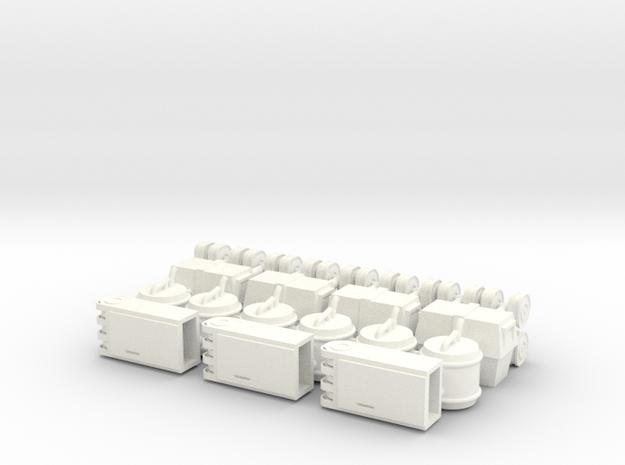 StarWars millinium falcon cargo boxs varity 002 in White Processed Versatile Plastic