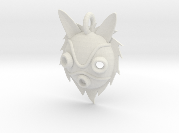 "Princess Mononoke ""San's Mask"" 3d printed"