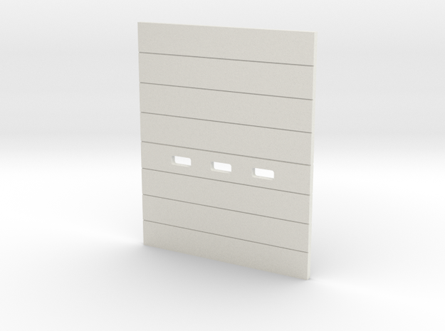 '1-50 Scale' - OH-Door 8.5cm x 10.5cm in White Natural Versatile Plastic