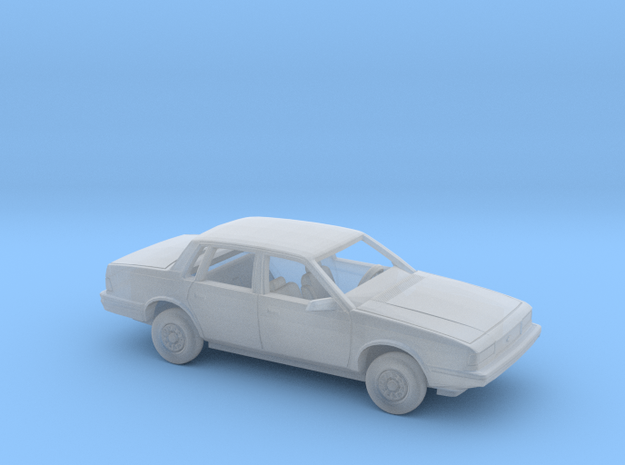 1/160 1990 Chevrolet Celebrity Sedan Kit in Smooth Fine Detail Plastic