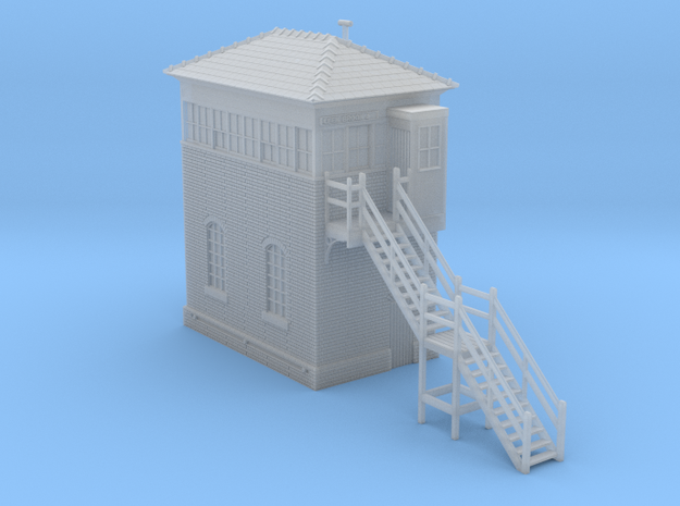 LB22 Leek Brook Junction Signal Box 1980's in Smooth Fine Detail Plastic