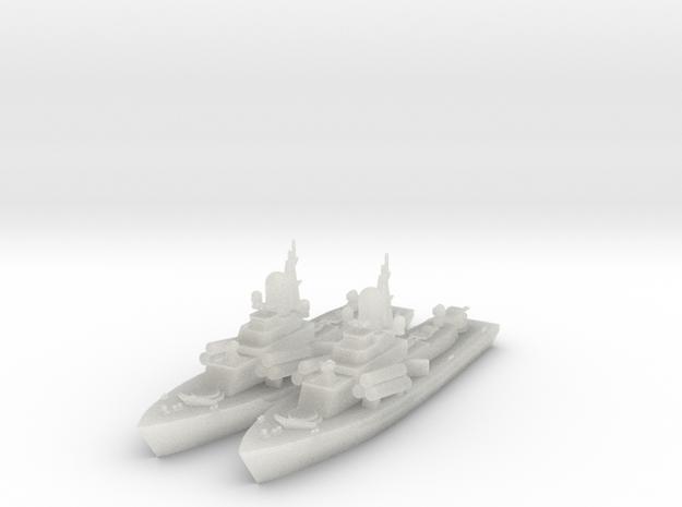 1/600 Nanuchka 1 Missile Corvette x2 in Frosted Ultra Detail